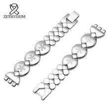 SWQ für frauen Edelstahl armband 12mm kleine größe armband metall swatch strap zubehör