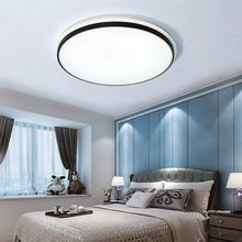 Modern Acrylic Led Ceiling Lamp With Remote Control Living Room Light Bedroom Kitchen White Lustre Decor Home Lighting Fixtures white black led ceiling lamp modern with remote control ceiling light living room kitchen light fixtures indoor lighting ceiling