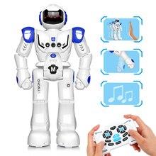 Dodoelephant rc 스마트 로봇 원격 제어 로봇 장난감 액션 그림 제스처 기능 장난감 소년 어린이 생일 선물