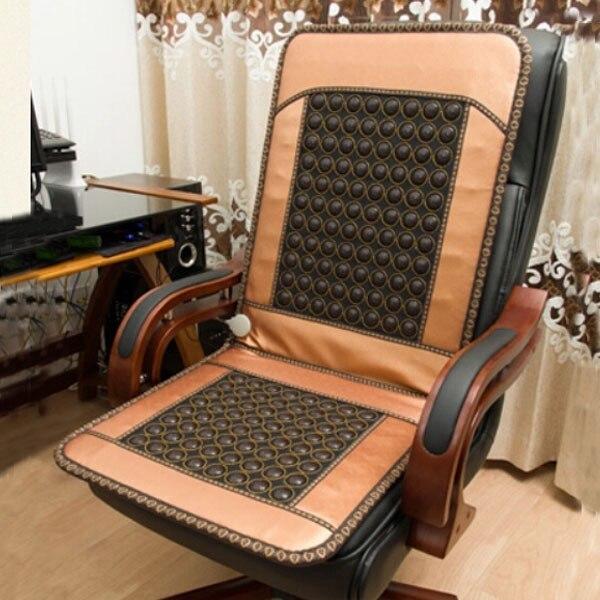 2016 cojín de asiento de Jade de estilo tailandés más Popular colchón de cuidado de la salud infrarrojo lejano cojín de terapia calentada envío gratis