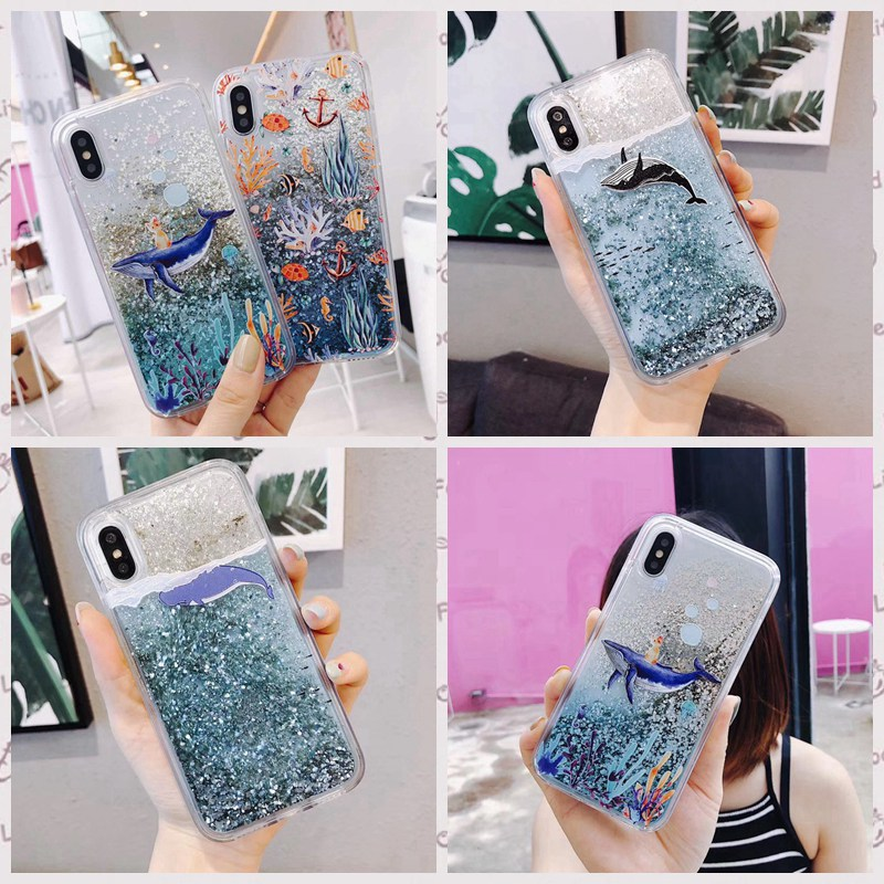 Liquid quicksand luxury mobile phone case for <font><b>Samsung</b></font> <font><b>galaxy</b></font> A50 A7 2018 A750 <font><b>A5</b></font> 7 3 2017 J530 730 330 PRO J310 <font><b>510</b></font> 710 Cover image