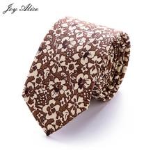 купить 2018 Brand New Fashion slim cotton tie 6 cm Men Ties Dot Printed necktie For Men Neckties Hand made Wedding narrow Ties дешево