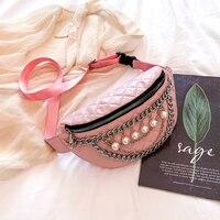 Waist Leather Bag Woman Waist Bag Women PU Fashion Pillow Fanny Pack for Women Waist Bag