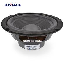 AIYIMA 1 шт. 6,5 дюймов СЧ-динамик 4 Ом 150 Вт аудио музыкальные колонки НЧ-динамик Громкоговоритель для домашнего кинотеатра Ses Sistemi