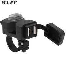 WUPP Motorcycle Handlebar USB Charger 5V 3.1A Moto Car Waterproof Large Power Faucet