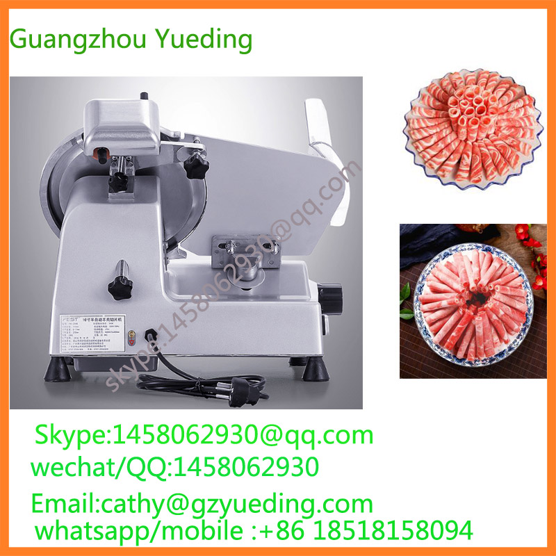 free shipping China Commercial Full Automatic Cabinet Type Frozen Meat Slicer, Meat Cutting Machine sale phoenix 11221 china southern airlines skyteam china b777 300er no 1 400 commercial jetliners plane model hobby