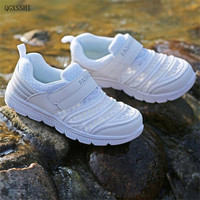 QGXSSHI New Spring Summer Children Shoes Boys Girls Net Cloth Casual Shoes Breathable Children Sports Shoes
