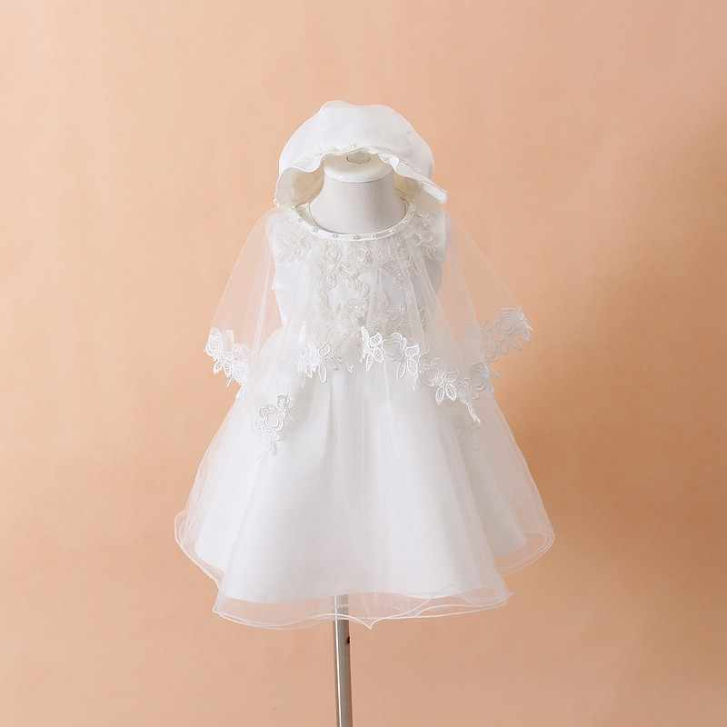 120a9b4d1 Detail Feedback Questions about Baby Christening Gown White Tulle ...