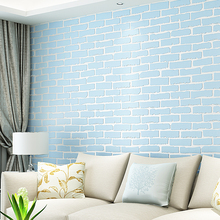 Self Adhesive Wallpapers With Glue Rustic Vintage Brick Wallpaper Roll  Vinyl Old Stone Wall Paper Papel