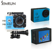 Оригинал Symrun SJ4000 Wifi Камера Действий 2.0 Дюймов Спорт Д. в. Жк-Экран 1080 P Hd Дайвинг 30 М Водонепроницаемый Мини видеокамеры
