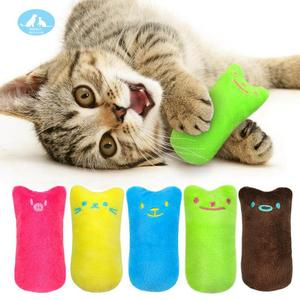 Funny Cat Kitten Chewing Catnip Toys Interactive Crazy Pet Toy Teeth Grinding  Claws Thumb Bite Cat mint For Cats Cat 23