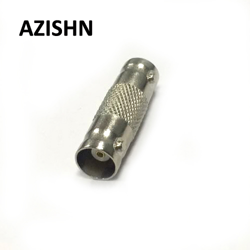 AZISHN 10PCS BNC Female To BNC Female F-F Connector Adapter For CCTV Cable Extension