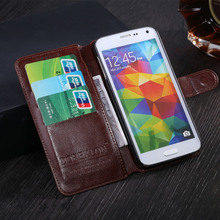 Leather Case For Samsung Galaxy S2 i9100 SII S II Phone Bag Cover with Card Holder Flip Coque For Samsung Galaxy S2 Plus i9105(China)