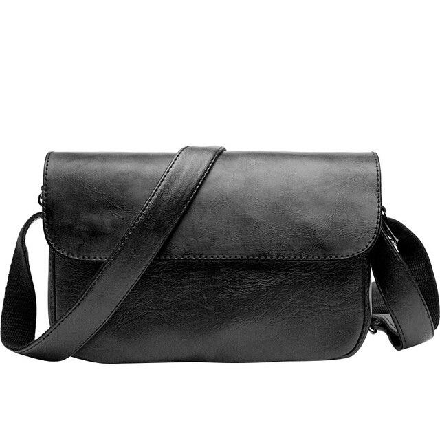 80b4e54080 Men s Shoulder Bags TOP Quality Casual Men Messenger Bag Pretty Style  Bolsas Travel Fashion Small Sacoche Homme Satchel