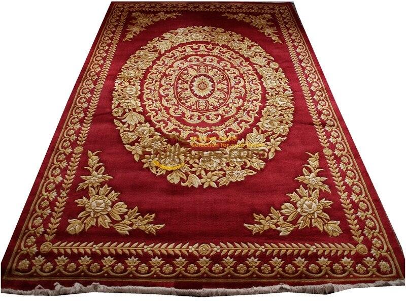 Tapis de Savonnerie espagnol tricot laine tapis à tricoter tapis de coureur turc