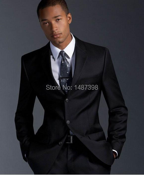 2016 Nuevo venir negro clásico formal hombres Trajes Venta caliente moda  Blazers para caballeros envío gratis 1714c7052ba