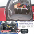 Auto Multipurpose Trunk Pouch Car Glove Box Storage Cubby Box Collapsible Car Bag Dec15