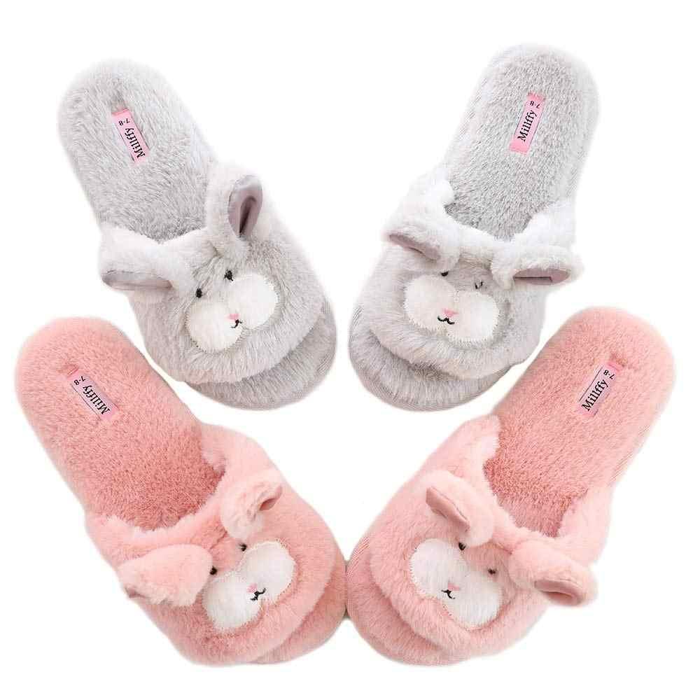 open toe indoor slippers