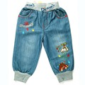7-24M Baby Boys Jeans New born Infant Denim Trousers cars embroidered legging Toddler neonatal Autumn kid Pants MH9550