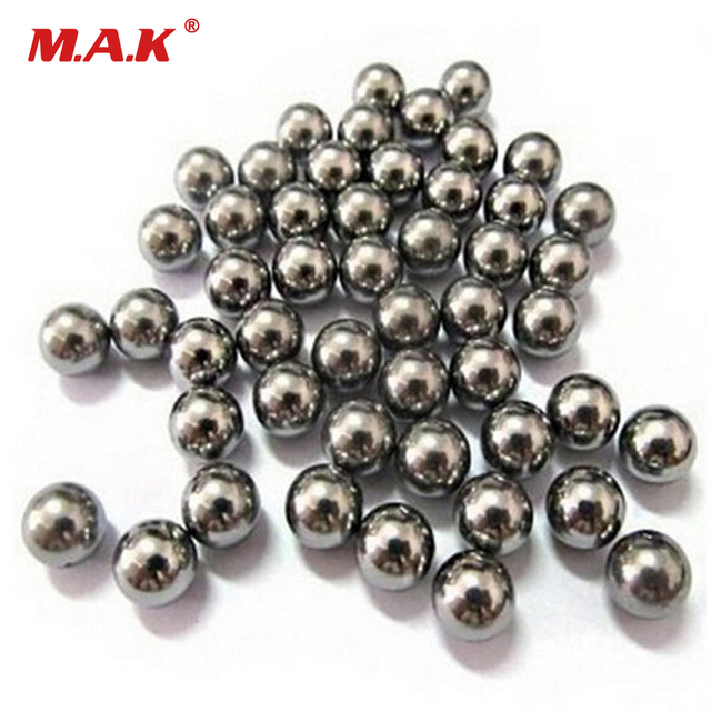 100pcs Hunting Diameter 8mm Carbon Steel Ball Bow Catapult Slingshot Ammo Outdoor Bullets Used Adult Game Hunt Tool Accessories