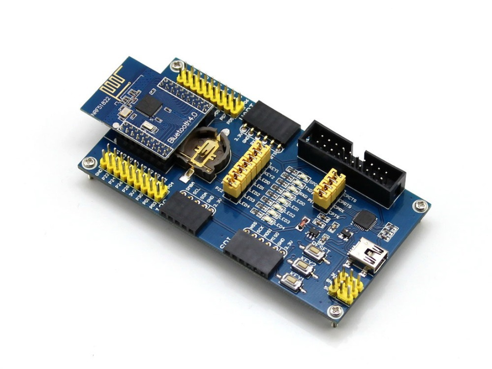 Parts 5pcs/lot BLE4.0 Bluetooth NRF51822 Module 2.4G Wireless Communication Module Trans ...