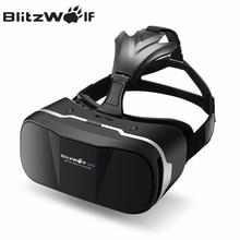 BlitzWolf Original BW-VR3 VR 3D Gafas de Realidad Virtual HeadMount Auriculares Para iPhone 7 6 Para Samsung 3.5-6.3 pulgadas Smartphone