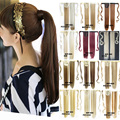 Another 16 colors Straight Magic Hair Ponytail Hair Pieces Drawstring Ribbon Hairpiece Clip In Pony Tail Hair Extensions