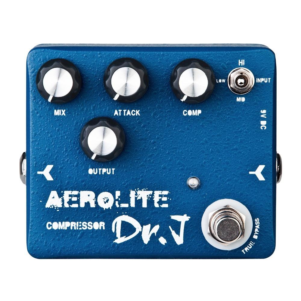 купить Dr. J D-55 Aerolite Compressor Electric Guitar Effect Pedal Professional Guitar Accessories efeito True Bypass по цене 5186.85 рублей