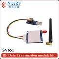 2 шт. 915 МГц 27dBm 500 МВт Si4432 SV651 RS485 UART 3 КМ Беспроводной Передатчик