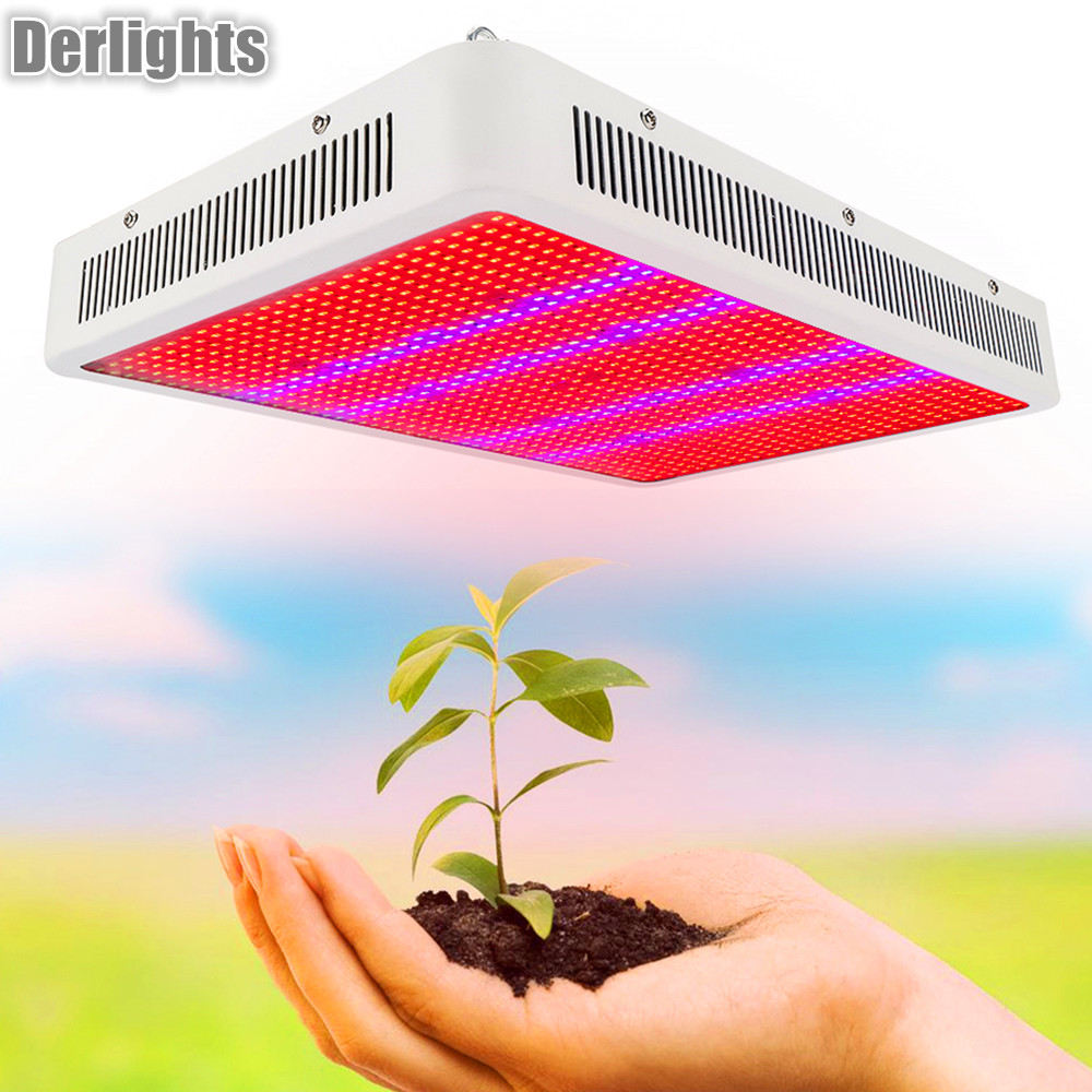 Full Spectrum 400W/800W/1200W LED Grow Light Aquarium Lamps AC85-265V for Greenhouse Hydroponics Plants Flowers Vegetables Herbs 30w led grow light ac85 265v full spectrum 290led greenhouse plants hydroponics flower medicine panel grow light