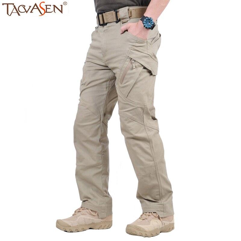 Aggressivo Uomini Outdoor Tactical Cargo Pantaloni Di Cotone Di Combattimento Militare Pantaloni Multi-tasca Degli Uomini Di Escursioni Di Caccia Pantaloni Abbigliamento Sportivo Traspirante