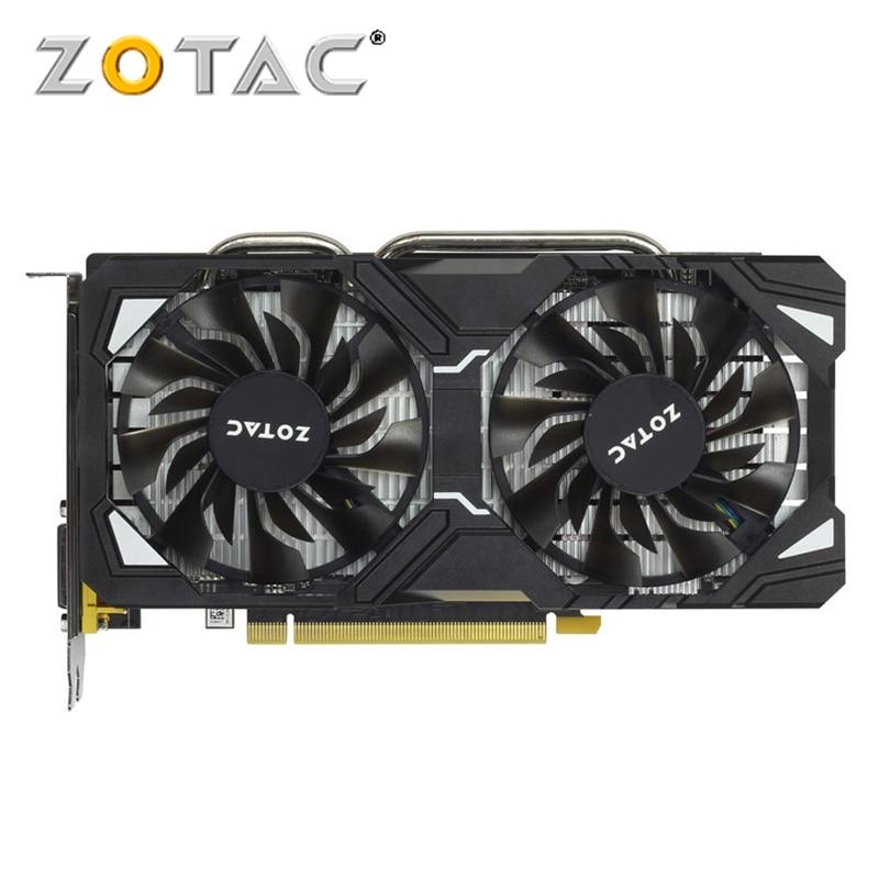 Видеокарта ZOTAC, оригинал, GTX 1060, 3 ГБ, графический процессор, видеокарта для GeForce nVIDIA GTX1060 3GD5 SM 192Bit, видеокарта PCI-E X16 HDMI