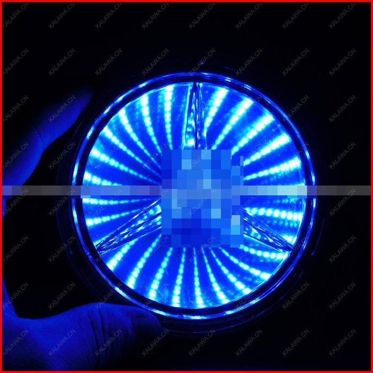 BIG LOGO(8.7cm x 8.7cm) 3D laser LED emblem car badge 3D logo light rear light Replacement  Case For BENZ S350 S300LFREESHIPPING 1pcs car styling 5d led rear emblem car logo light badge bulb for mercedes w221 s350 s300l