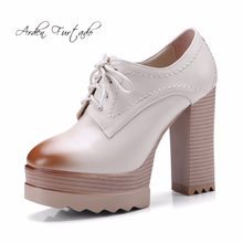 Arden Furtado 2018 new style fashion shoes for woman platfrom high heels  11cm lace up cross tied big size 40-42 small size 32 33 8059a6c11640