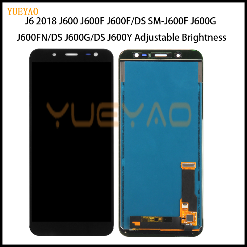 J600 LCD Replacement For Samsung Galaxy J6 2018 J600 J600F/DS J600G/DS LCD Display Touch Screen Digitizer can Adjust BrightnessJ600 LCD Replacement For Samsung Galaxy J6 2018 J600 J600F/DS J600G/DS LCD Display Touch Screen Digitizer can Adjust Brightness