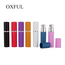 1pc 5ml Mini Refillable Perfume Atomizer Bottle With Spray Travel Spray Parfum Bottle Aluminum Perfume Bottle Cosmetic Container