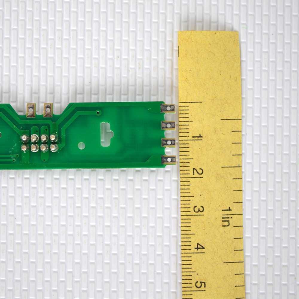 HO 1/87 skala model pociągu moc tablica rozdzielcza z diody led stanu dla DC i AC napięcia modelowania kolejowego