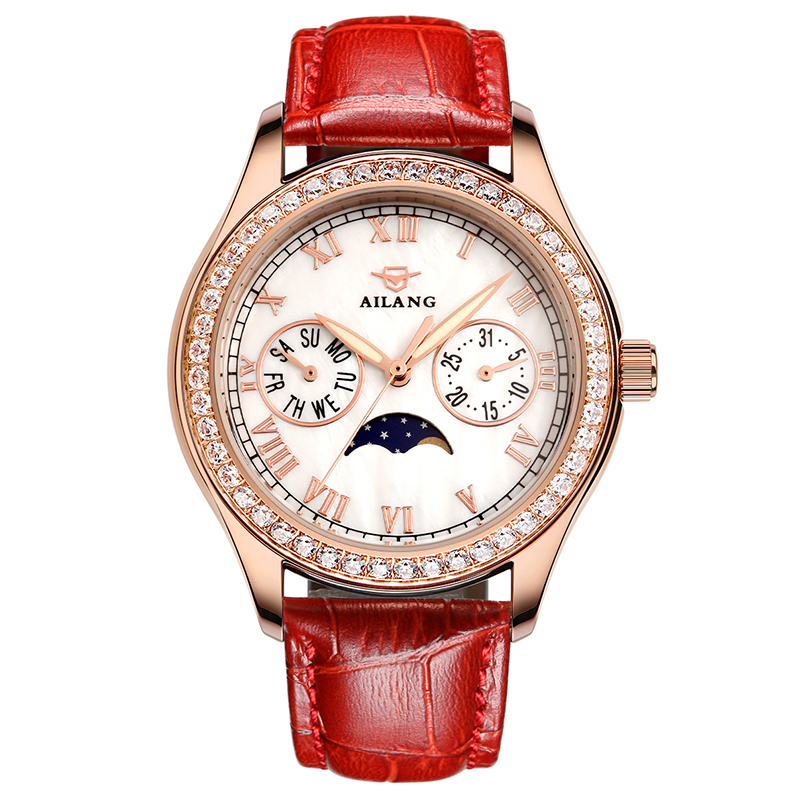 AILANG Fashion Casual Watch Women 30M Waterproof Luxury Brand Quartz Watches Relogio feminino Clock Ladies Gold Dress Wristwatch silver diamond women watches luxury brand ladies dress watch fashion casual quartz wristwatch relogio feminino