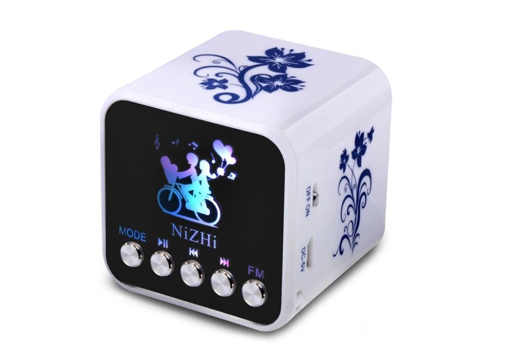 Süß GehäRtet Mini Fm Radio Lautsprecher Unterstützung Sd-karte/alarm Tragbares Audio & Video Tragbare Lautsprecher Mp3 Spieler Radt032 Diversifizierte Neueste Designs
