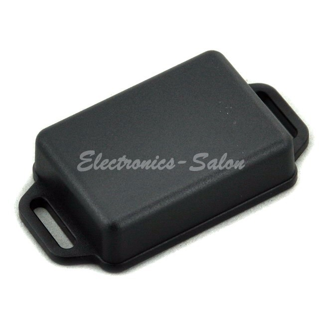 Small Wall-mounting Plastic Enclosure Box Case, Black,51x36x15mm, HIGH QUALITY.