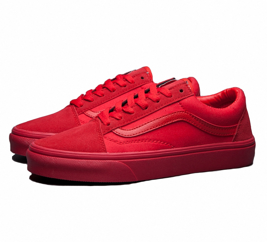 Vans All Red Skate Shoes