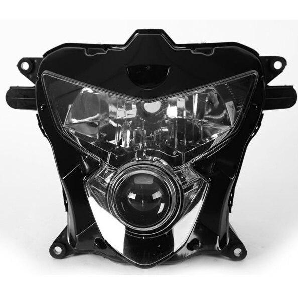 Передние фары мотоцикла Прозрачные Линзы Глава свет лампы для Suzuki GSXR GSX R R600 R750 600 750 GSXR600 GSXR750 2004 2005 04 05 K4 ...