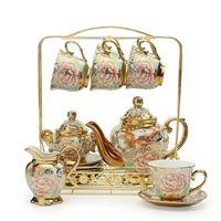 Européenne en céramique ménage Café thé ensemble résistant à La Chaleur bouilloire boîtes de cadeau de mariage