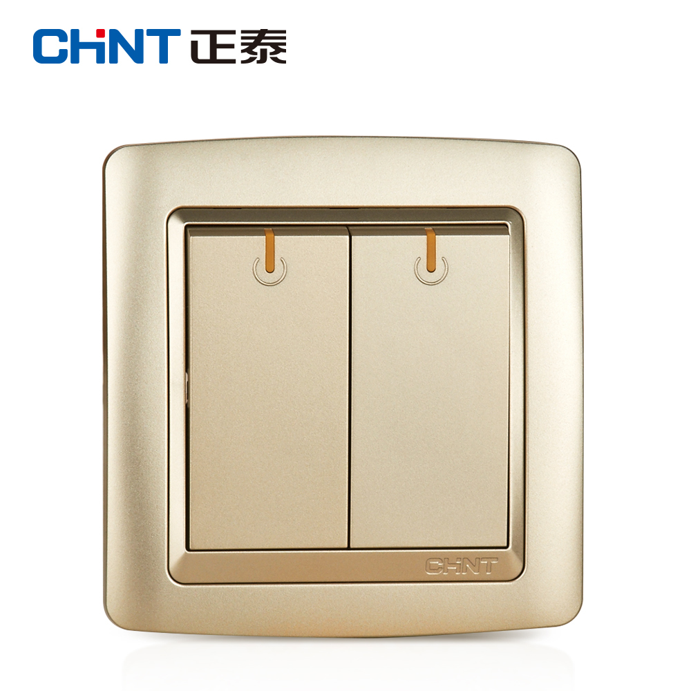 Gold Wall Plates Chint Electric Light Switch Wall Plates New2K Light Champagne Gold