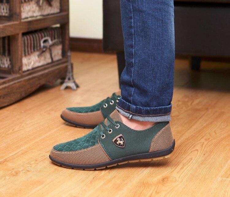 HTB1JwwBajnuK1RkSmFPq6AuzFXam 2019 Shoes Men Flats Canvas Lacing Shoes Breathable Men Casual Shoes Fashion Sneakers Men Loafers Wholesale Men 39 S Shoes