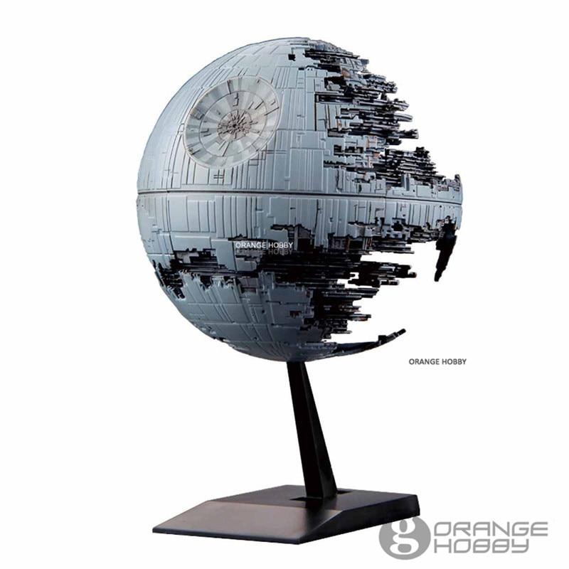 Image 2 - Bandai Star War Vehicle Model 013 Death Star II Assembly plastic Model KitsModel Building Kits   -