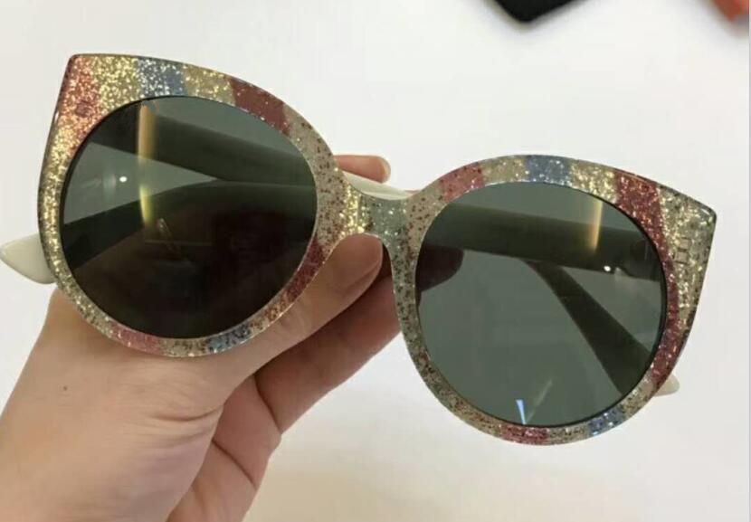 Grün Männer mehrfach Lkk 2018 Italien Retro Grün Oculos Frauen Luxus Katzenauge Sonnenbrille Rot Designer Weibliche Marke schwarzes Raum Rahmen rot Für freier rwSBqwYO1x