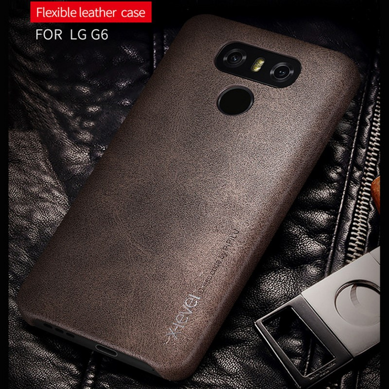 X-level Brand New Ultrathin PU Leather Case For LG G6 Cell Phone Case Hard Back Case Cover Free Shipping