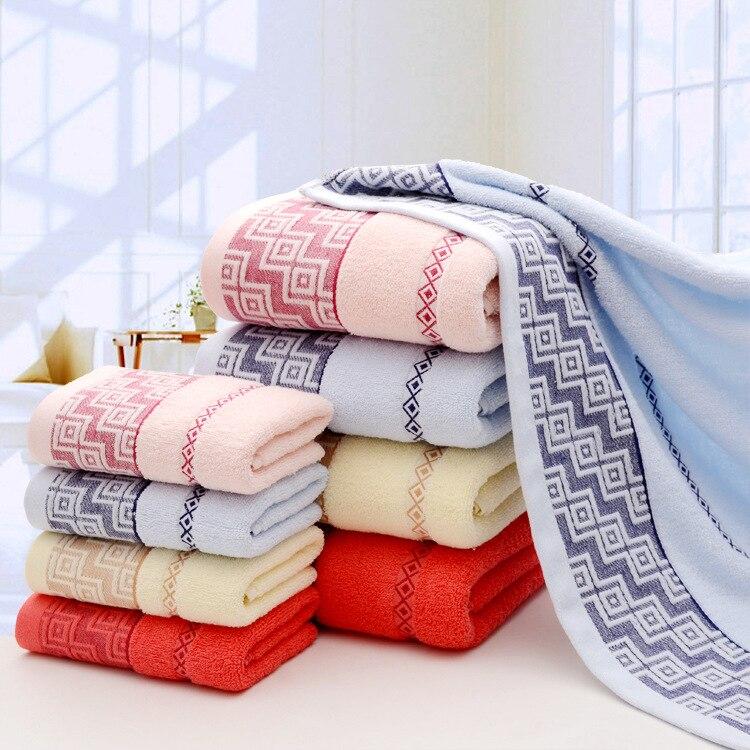 Drop 70 140cm 100 Cotton Solid Color Bath Towels Large Bath Sheet