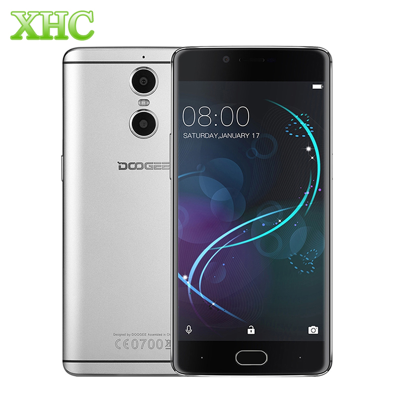 bilder für 4G LTE DOOGEE Schießen 1 16 GB Dual Hinten Kameras Fingerprint ID 5,5 zoll FHD Android 6.0 MTK6737T Quad Core 13.0MP Handy